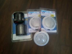 LED kulku- ja sisävalot